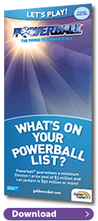 Powerball Let's Play Brochure