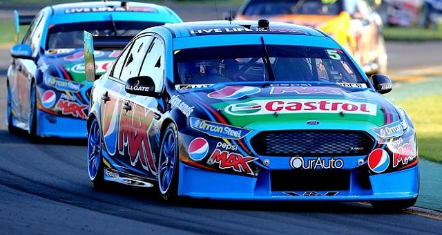 Mark Winterbottom winning in 2015. Image courtesy of: www.dailytelegraph.com.au